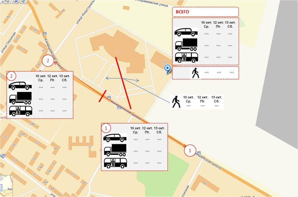 Изображение - Пешеходный трафик на карте москвы zamer_potokov_otchet_1
